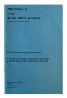 Paul Cockerhan - Kilkenny Funeral Monuments 1500-1600 A statistical and Analytical Account -  - KEX0283148