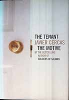 Cercas, Javier, Anne McLean - The Tenant and the Motive - 9780747576723 - KEX0303470