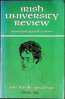 John Banville - Irish University Review special issue on Banville -  - KEX0303485