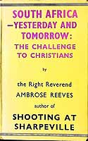 Reeves, R. Ambrose - South Africa, yesterday and tomorrow -  - KEX0304074