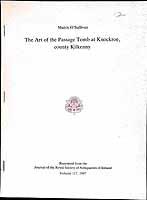 Muiris O Sullivan - The Art of the Passage Tomb at Knockroe County Kilkenny -  - KEX0304831