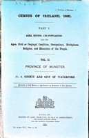- Census of Ireland 1881 County and city of Waterford Province of Munster -  - KEX0309109