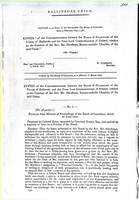 Mr. Grogan - Ballinrobe Union ( County Mayo). Correspondence between the Board of Gaurdians of the Union of Ballinarobe and the Poor law Commissioners of Ireland relative to the conduct of Rev. Mr HardimanRoman-catholic Chaplin of the said Union -  - KEX0309116