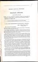 - Third Annual Report Drainage- Ireland -  - KEX0309168