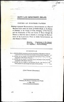 Lord Viscount Duncannon - Crown Land Improvement Ireland. Copies of Further Papers Relating to Proposed Experimental Improvements on A Tract of Mountain Land called the lands of Pobble-O-Keefe in the Barony -  - KEX0309169