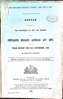 - The Provisions of the 59th section of the Contagious Diseases ( Animals ) Act 1878 for the Year ended 31st December 1893 as Regards Ireland -  - KEX0309170