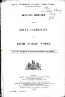 - Second Report of the Royal Commission on Irish Public Works -  - KEX0309179