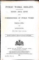 - Sixtieth Annual Report of the Commiaaioners of Public ireland with appendicies foor the Year 1891-92 -  - KEX0309182