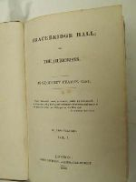 Geoffrey Crayton - Bracebridge Hall; Or, The Humorists, in 2 Volumes -  - KHS0001488