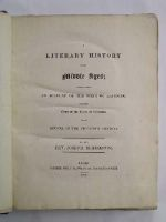 Rev Joseph Berington - A Literary History of the Middle Ages: Comprehending an Account of  the State of Learning, From the Close of the Reign of Augustus To its Revival in the Fifteenth Century -  - KHS0001529