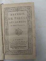 Madame Riccoboni - Recueil De Piéces Detachées -  - KHS0008833