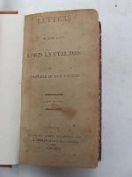 Anon - Letters of the Late Lord Lyttelton. Complete in One Volume -  - KHS0008935