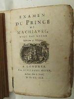 [Voltaire] - Examen Du Prince De Machiavel: Avec Des Notes Historiques & Politiques -  - KHS0008983