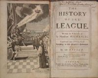 Monsieur [Louis] Maimbourg - The History Of The League. -  - KHS0009074