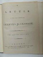 [John Almon] - A Letter to the Right Honourable Charles Jenkinson. -  - KHS0009079