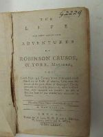 [Daniel Defoe] - The Life and Most Surprising Adventures of Robinson Crusoe, of York, Mariner, Who Lived Eight and Twenty Years in an Uninhabited Island on the Coast of America, Lying near the Mout -  - KHS0009082