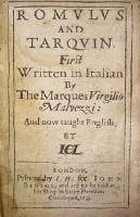 Marquess Virgilio Malvezzi - Romulus and Tarquin -  - KHS0009183