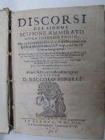 Ammirato (Scipione) - Discorsi del signor Scipione Ammirato -  - KHS0017222