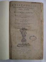 Aristotle - Aristotelis Ethicorum Nicomachiorum libri decem ex Dion. Lambini interpretatione Graecolatini -  - KHS0021207