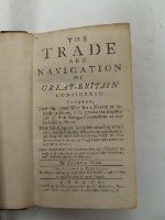 Joshua Gee - The Trade and Navigation of Great-Britain Considered: Shewing that the Surest Way for a Nation to Increase in Riches, is to Prevent the Importation of Such Foreign Commodities as M -  - KHS0023735