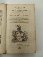[Anon] - The Rolliad, in Two Parts; Probationary Odes for the Laureatship; and Political Ecloques: With Criticisms and Illustrations.Revised, Corrected and Enlarged by the Original Authors -  - KHS0023941