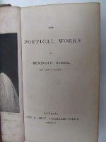 Heber Reginald - The Poetical Works of Reginald Heber, Lord Bishop of Calcutta -  - KHS0024544