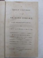 Francis Plowden - A Short History of the British Empire during the last Twenty Months; Viz From May 1792 to the Close of the Year 1793 -  - KHS0025328