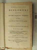 [Anon] - Moral and Political Dialogues between Divers Eminent Persons of the Past and Present Age; With Critical and Explanatory Notes -  - KHS0027780