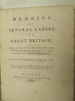 George Ballard, Magd. Coll. Oxon - Memoirs of Several Ladies of Great Britain, Who Have Been Celebrated For Their Writings or Skill in the Learned Languages Arts and Sciences -  - KHS0032463