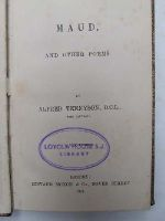 Alfred Tennyson - Maud, and Other Poems -  - KHS0032501