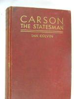 Ian Colvin - Carson the Statesman -  - KHS0035893