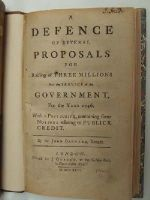 Sir John Barnard, Knight - A Defence of Several Proposals for Raising of Three Millions For the Service of the Government for the Year 1746: With a Postscript Containing Some Notions Relating to Publick Cred -  - KHS0053449