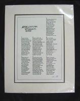 John Fuller - Annotations of Giant's Town (Broadsheet) -  - KHS0056630