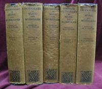 H. C. Colles - Grove's Dictionary of Music and Musicians -  - KHS0059405