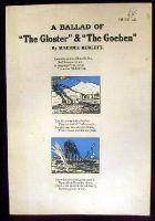 Maurice Hewlett - A Ballad of The Gloster & The Goeben -  - KHS0068115