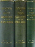 Standish Hayes O'Grady, Robin Flower - Catalogues of Irish Manuscripts in the British Museum Vol I, II and III -  - KHS0069988
