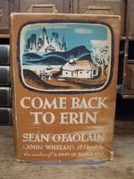 Seán O'Faoláin - Come Back to Erin -  - KHS0071111