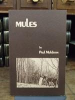 Paul Muldoon - Mules - 9780916390068 - KHS0076372