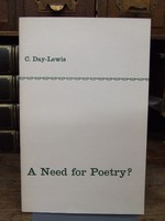 C. Day-Lewis - A Need for Poetry? - B001V6PVYC - KHS0076686