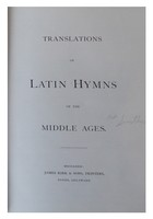 - Translations of Latin Hymns of The Middle Ages -  - KHS0079360