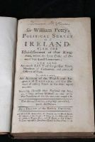 William Petty - The Political Anatomy of Ireland,: With the establishment for that Kingdom and Verbum sapienti -  - KHS1001640
