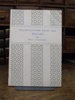 Rudi Holzapfel - Translations from the English -  - KHS1003471