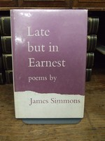 James Simmons - Late but in Earnest -  - KHS1003742