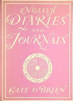 Kate O'Brien - English Diaries and Journals -  - KHS1003766