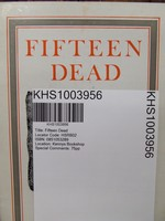Thomas Kinsella - Fifteen Dead - 9780851053288 - KHS1003956