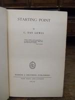 C Day Lewis - Starting Point -  - KHS1003991
