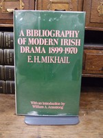 E. H. Mikhail - A Bibliography of Modern Irish Drama 1899-1970 - 9780295952291 - KHS1004202