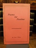 Isaac Wilson - Poems for Pastimes - B002ERSVNU - KHS1004280