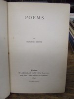 Horace Smith - Poems -  - KHS1004487