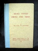 The Earl Of Longford - More Poems From The Irish -  - KHS1004586